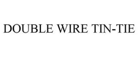 DOUBLE WIRE TIN-TIE