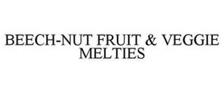 BEECH-NUT FRUIT & VEGGIE MELTIES Trademark Information. Beech-nut Nutrition Company