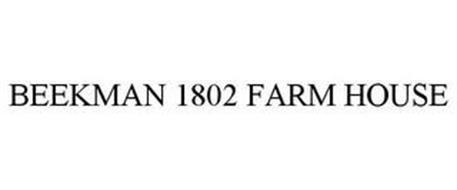BEEKMAN 1802 FARM HOUSE