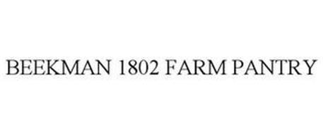 BEEKMAN 1802 FARM PANTRY
