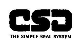 CSD THE SIMPLE SEAL SYSTEM