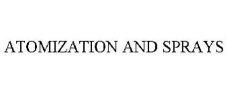 ATOMIZATION AND SPRAYS