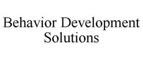 BEHAVIOR DEVELOPMENT SOLUTIONS