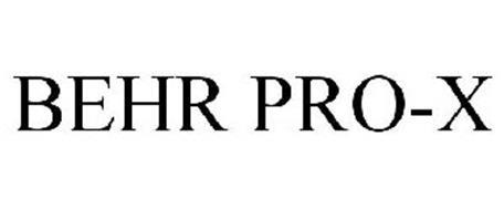 BEHR PRO-X