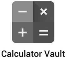 CALCULATOR VAULT