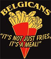 """BELGICANS """"IT'S NOT JUST FRIES, IT'S A MEAL!"""""""