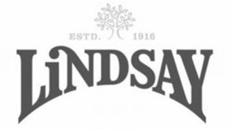 LINDSAY ESTD. 1916