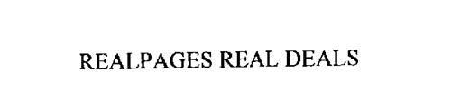 REALPAGES REAL DEALS