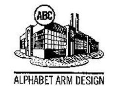 ABC ALPHABET ARM DESIGN