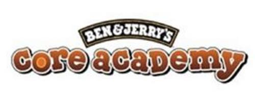 BEN & JERRY'S CORE ACADEMY