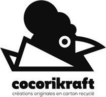 COCORIKRAFT CRÉATIONS ORIGINALES EN CARTON RECYCLÉ