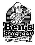 """BEN'S SOCIETY """"SUCCESS IS IN THE DETAILS"""""""