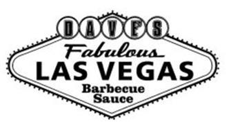 DAVE'S FABULOUS LAS VEGAS BARBECUE SAUCE