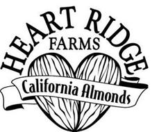 HEART RIDGE FARMS CALIFORNIA ALMONDS