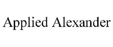 APPLIED ALEXANDER
