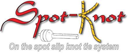 SPOT-KNOT ON THE SPOT SLIP KNOT TIE SYSTEM
