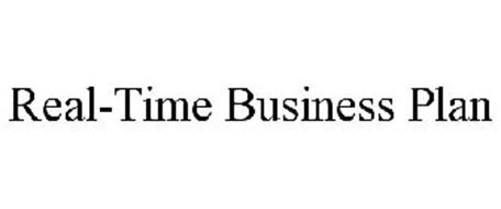 REAL-TIME BUSINESS PLAN