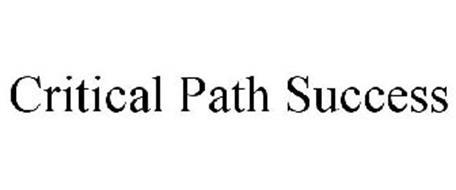 CRITICAL PATH SUCCESS