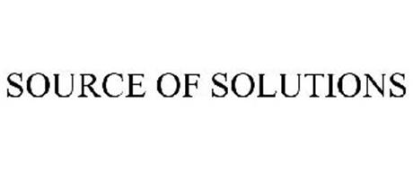 SOURCE OF SOLUTIONS