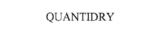 QUANTIDRY