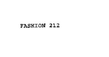 FASHION 212