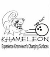 NEO-TAC KHAMELEON EXPERIENCE KHAMELEON'S CHANGING SURFACES