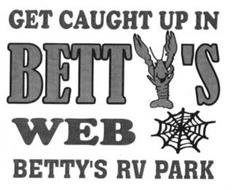 GET CAUGHT UP IN BETTY'S WEB BETTY'S RV PARK