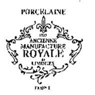 PORCELAINE 1737 ANCIENNE MANUFACTURE ROYALE DE LIMOGES FRANCE