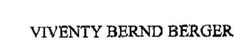 VIVENTY BERND BERGER