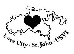 LOVE CITY · ST. JOHN · USVI