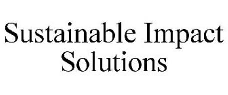 SUSTAINABLE IMPACT SOLUTIONS