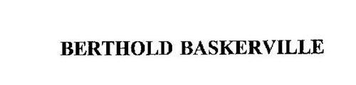 BERTHOLD BASKERVILLE