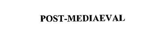 POST-MEDIAEVAL