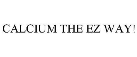 CALCIUM THE EZ WAY!