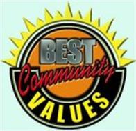 BEST COMMUNITY VALUES