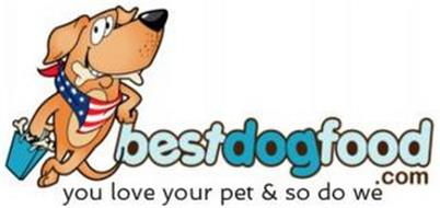 BESTDOGFOOD.COM YOU LOVE YOUR PET AND SO DO WE