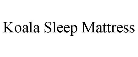 KOALA SLEEP MATTRESS