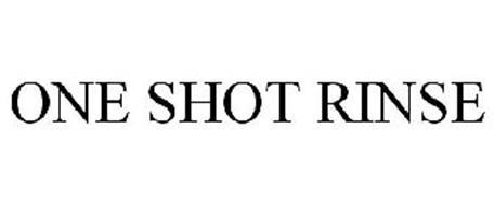 ONE SHOT RINSE