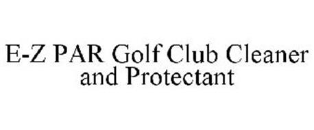 E-Z PAR GOLF CLUB CLEANER AND PROTECTANT