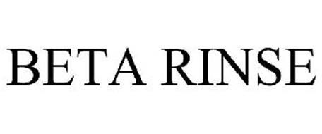 BETA RINSE