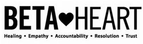 BETA HEART HEALING · EMPATHY · ACCOUNTABILITY · RESOLUTION · TRUST