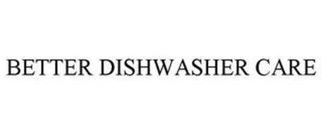 BETTER DISHWASHER CARE