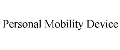 PERSONAL MOBILITY DEVICE