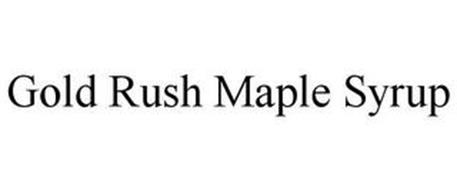 GOLD RUSH MAPLE SYRUP
