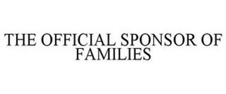 THE OFFICIAL SPONSOR OF FAMILIES