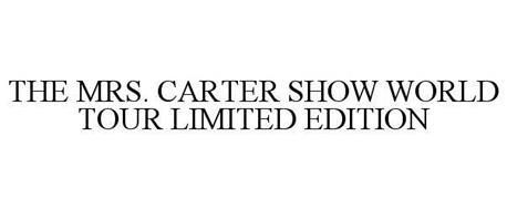 THE MRS. CARTER SHOW WORLD TOUR LIMITED EDITION