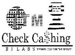 ITM CHECK CA$HING B I L A B S TECHNOLOGY FOR THE SENSES