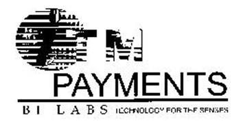 ITM PAYMENTS B I L A B S TECHNOLOGY FORTHE SENSES