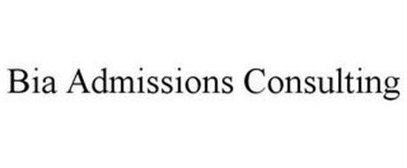 BIA ADMISSIONS CONSULTING