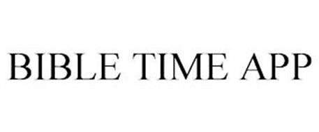 BIBLE TIME APP